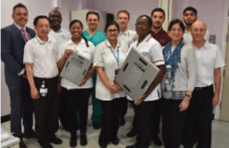King George Hospital installation transforms patient service