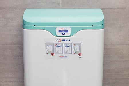 Disposal unit enables infection prevention at POC