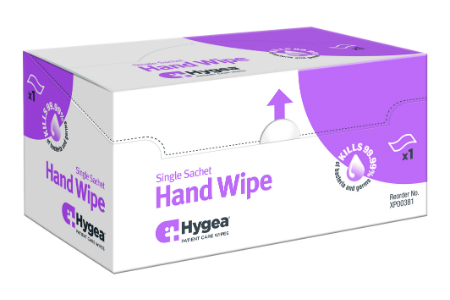 Hand wipes aim to address hand hygiene compliance