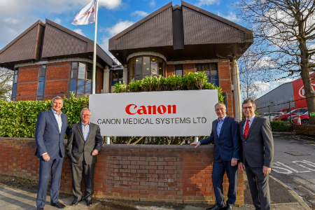 Transition to Canon Medical Systems UK complete