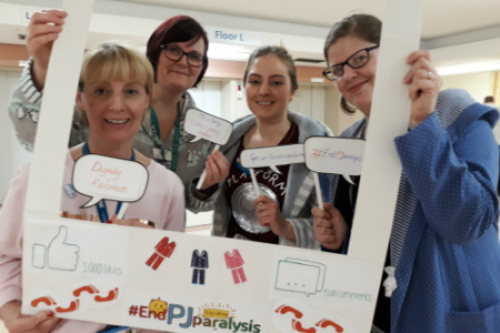 Sheffield Hospitals staff join 70-day EndPJParalysis campaign