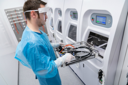 Mid Yorkshire NHS Trust embraces UK's first mobile decontamination unit
