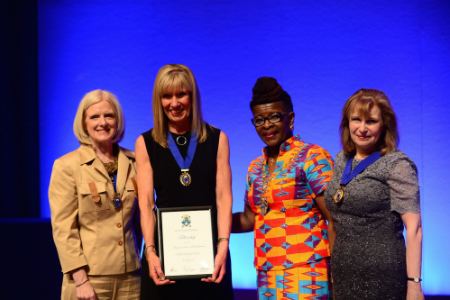 Sheffield Hospitals' chief nurse receives highest honour from largest nursing body