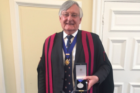 Sleep expert awarded College Medal for outstanding achievements