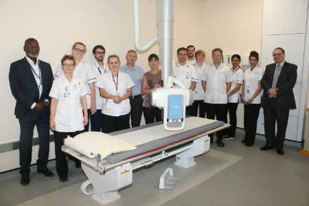 Althea and Samsung Enhance X-ray Services in Leicester