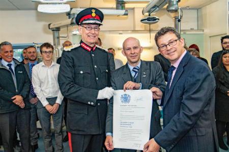 Medtech company receives second Queen's Award