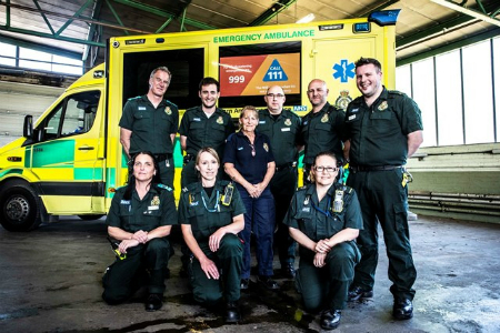 CQC rates South Western Ambulance Service's care as 'Outstanding'