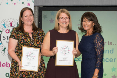 Outstanding breast cancer nurses recognised by patients at awards