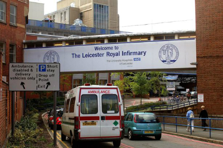 Leicester Trust brings cutting edge system to hospital estate