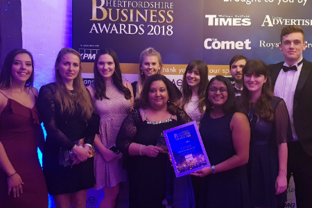 Healthcare company wins Large Business of the Year Award 2018