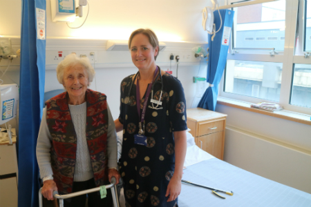 Poole Hospital praised for hip fracture care