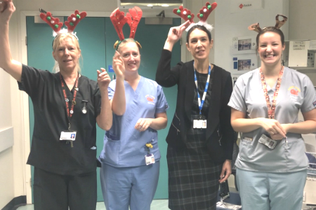 Addenbrooke's viral video is sign it's Christmas