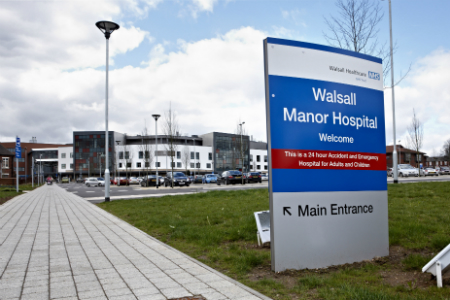 Walsall Manor to get £36 million investment for a new emergency department