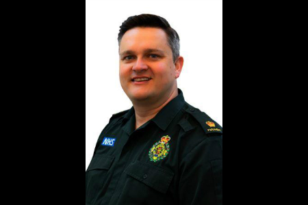 SWASFT paramedic awarded Queen's Ambulance Medal
