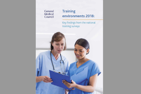 GMC publishes National Training Survey