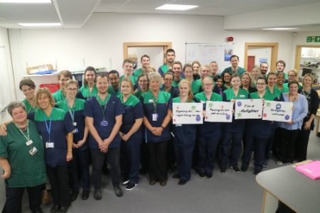 Poole Hospital in the top 10 for staff flu jabs