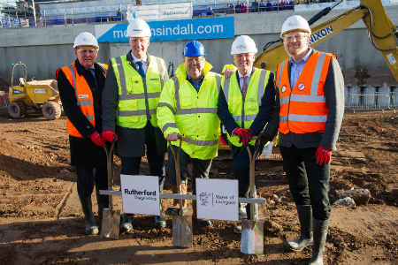 Work begins on one of the most advanced healthcare diagnostic centres in the UK