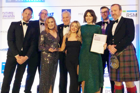 Scalp cooling specialist wins National manufacturer of the year award