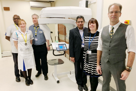 'First of its kind' cone beam CT scanner installed at Leicester