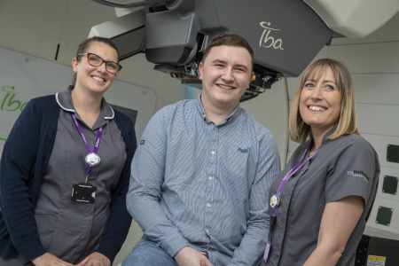 Welsh NHS patient praises proton beam therapy treatment