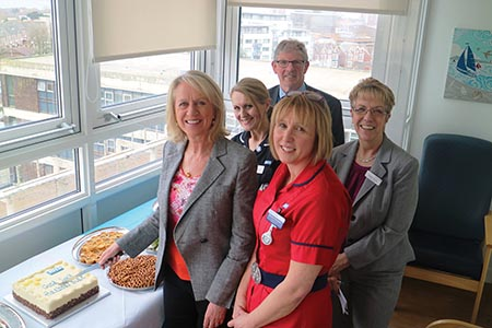 'Exciting new development' opened at Poole Hospital