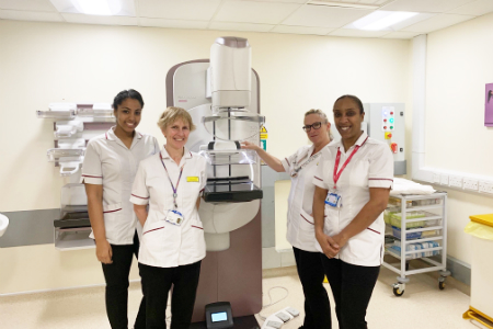 State-of-the-art 3D mammography units installed at Derby Hospital