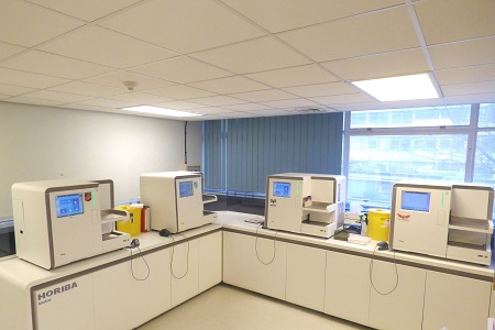 First multi-site installation of HORIBA Medical's new HELO modular automated haematology platform