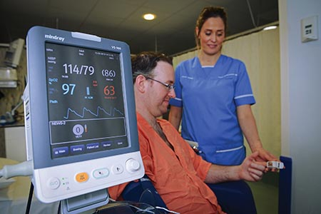 Connected NEWS2 e-vital signs save lives
