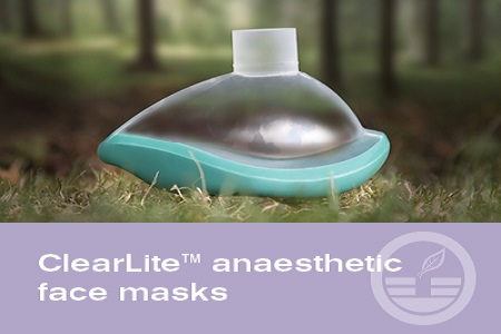 ClearLite™ anaesthetic face mask from Intersurgical – A clear vision for the future