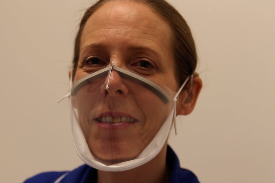 Addenbrooke's clear COVID mask secures CE mark